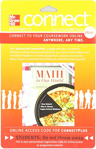 9780077539146: Connect Math hosted by ALEKS Access Card 52 Weeks for Math in Our World