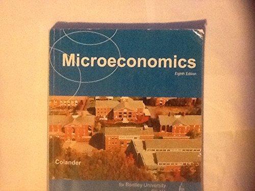 9780077539443: Microeconomics