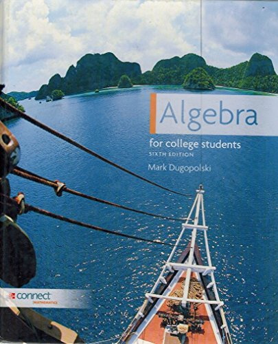 9780077541484: Algebra for College Students Sixth Edition