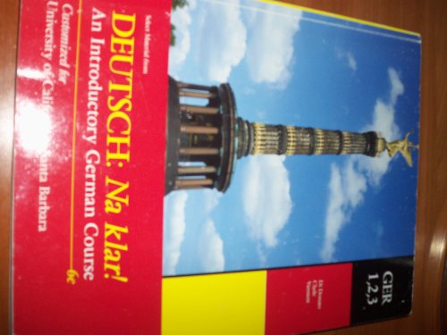 9780077542122: Select Deutsch Na Klar an Introductory German Gouse Ucsb