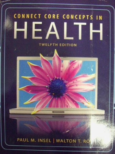9780077545086: Connect Core Concepts In Health [12 E] (Big Edition | Paperback)