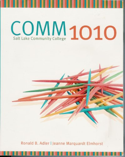 9780077546311: Comm 1010 Salt Lake Community College