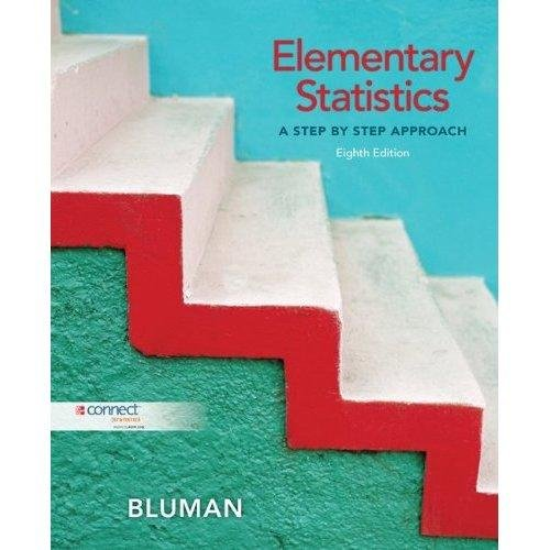 9780077546519: Elementary Statistics: A Step By Step Approach