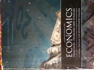 9780077546861: Economics 19th Edition McConnell Brue Flynn Montgomery college edition