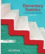 9780077549855: Elementary Statistics A Step By Step Approach Custom Edition for Suffolk County Community College