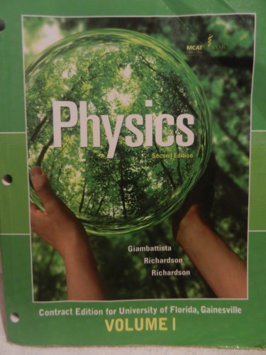 9780077550202: Physics Contract Edition for University of Florida, Gainesville Volume 1
