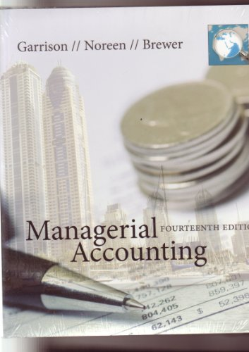 9780077551544: Managerial Accounting