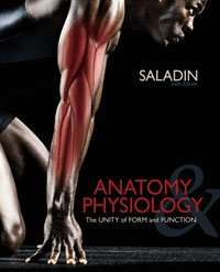 9780077553920: Anatomy Physiology Biol 2710 Saladin Sixth Edition
