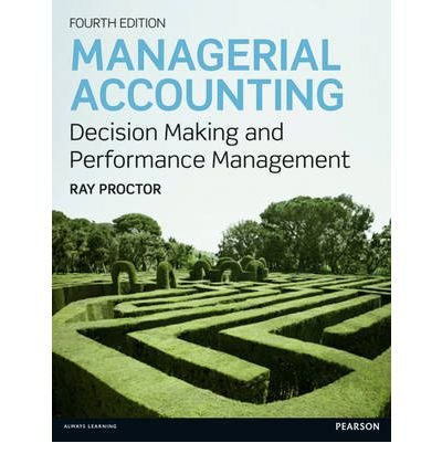 9780077555542: Managerial Accounting