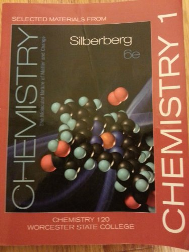 9780077556938: Selected Materials from Chemistry (Custom Edition for Worcester State, Chem 120)