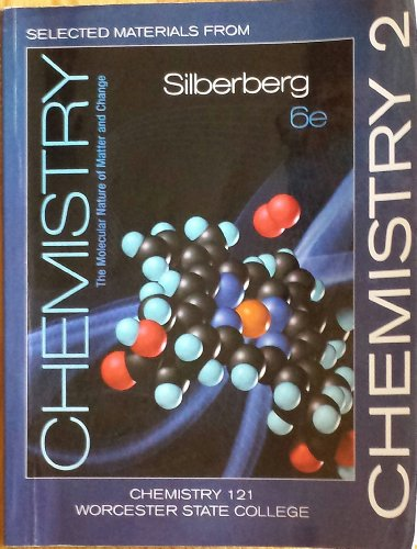 9780077556976: Selected Materials from Chemistry (Custom Edition for Worcester State College, Chemistry 121)