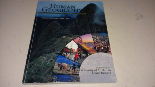 9780077558338: Custom Edition for Cssb: Human Geography Landscapes of Human Activities