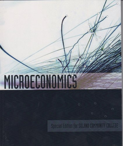 9780077558369: Microeconomics (Special Edition for Solano Community College)