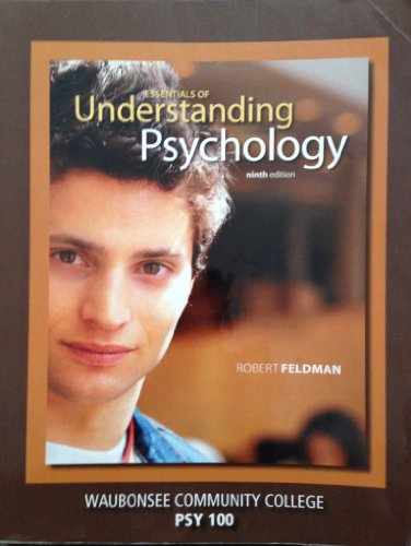 9780077558444: Essentials of Understanding Psychology (Custom Edition for Wauonsee Community College | PSY 100)
