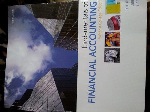 9780077560942: Fundamentals of Financial Accounting (Valencia College Edition)