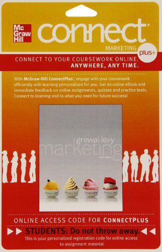 9780077561079: Connect Plus Marketing 1 Semester Access Card for Marketing