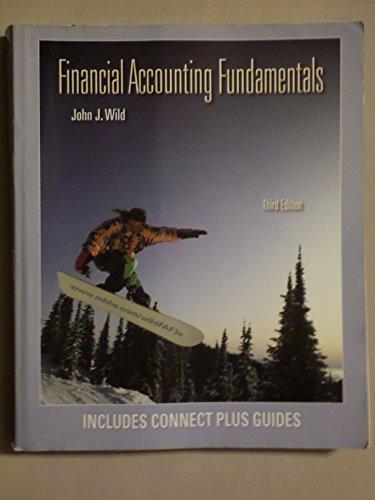 9780077561857: Financial Accounting Fundamentals (Third Edition)