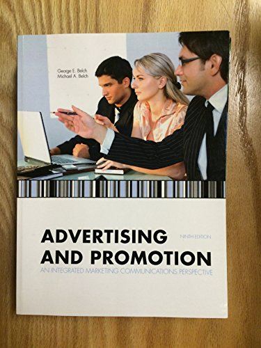 9780077563363: Advertising and Promotion: An Integrated Marketing Communications Perspective, Ninth Edition