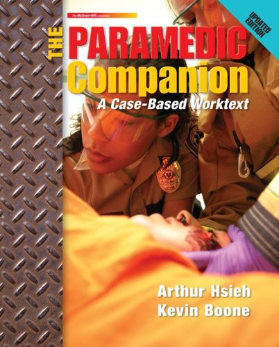 9780077563899: The Paramedic Companion Updated Ed: A Case-Based Worktext