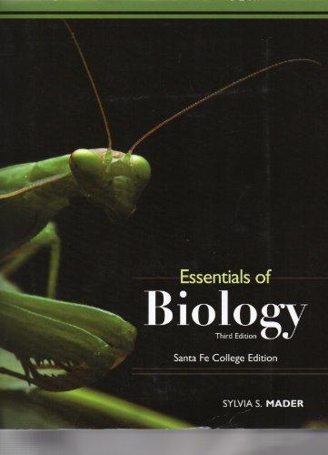 9780077565541: Essentials of Biology Santa Fe College Edition (Third Edition)