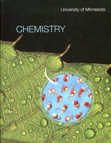 9780077566838: Chemistry: University of Minnesota Custom Edition