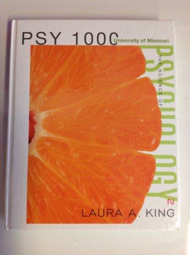 9780077567477: The Science of Psychology (An Appreciative View; University of Missouri PSY 1000)