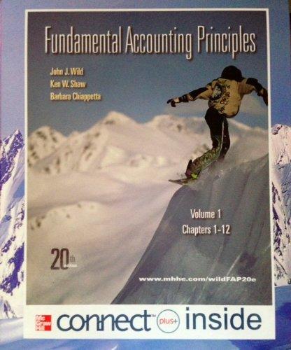 9780077570132: Fundamental Accounting Principles