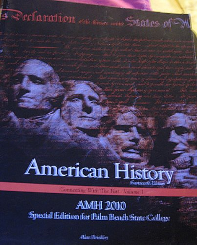 9780077570200: American History: Connecting with the Past - Volume 1
