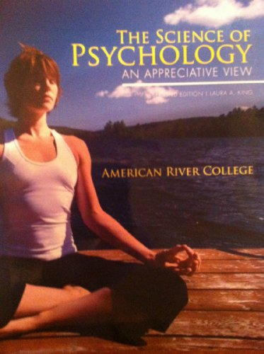 9780077571405: The Science of Psychology (An Appreciative View (American River College))