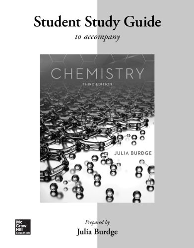 9780077574291: Student Study Guide for Chemistry