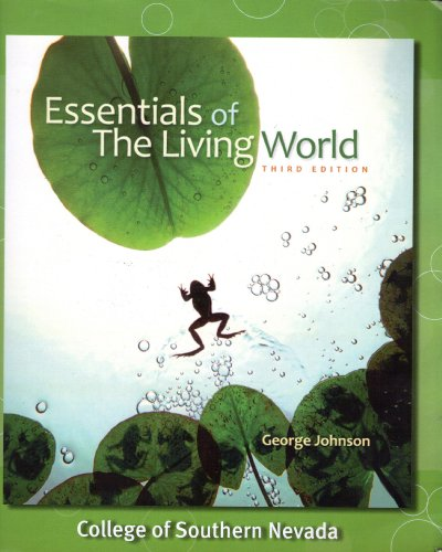 9780077574949: Essentials of the Living World: Third Edition CSN (Essentials of the Living World)