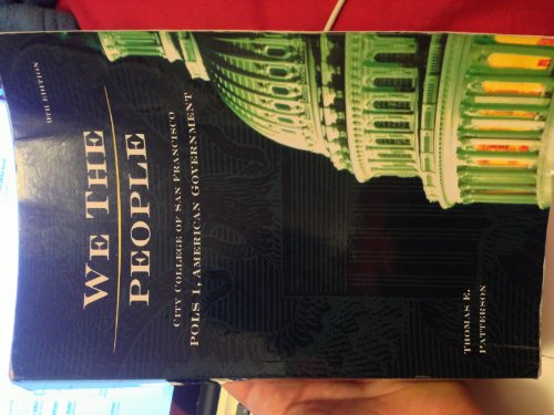 9780077577728: We the People (City College of San Francisco Edition)
