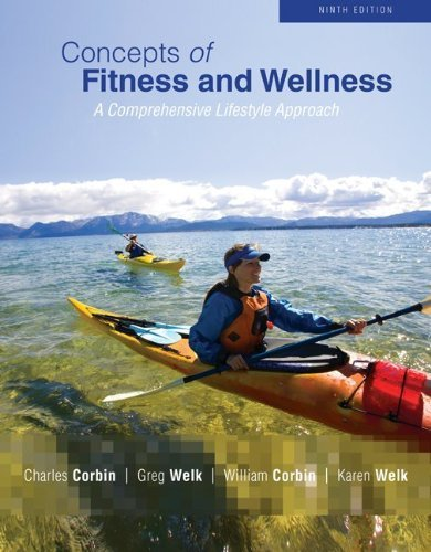 9780077579302: Concepts of Fitness and Wellness 9th Edition