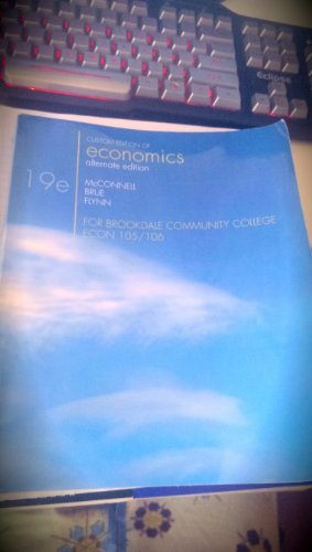 9780077579760: Economics (Custom Edition of Economics alternate edition for Brookdale Community College ECON 105/106)