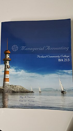 9780077582753: Managerial Accounting