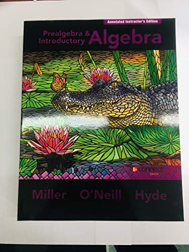 9780077582906: Prealgebra & Introductory Algebra: Annotated Instructor's Edition