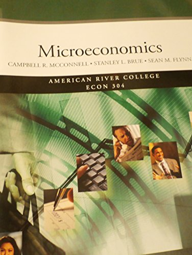 9780077584252: Microeconomics American River College Econ 304