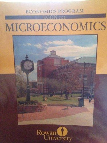 9780077584337: Microeconomics (Rowan University)