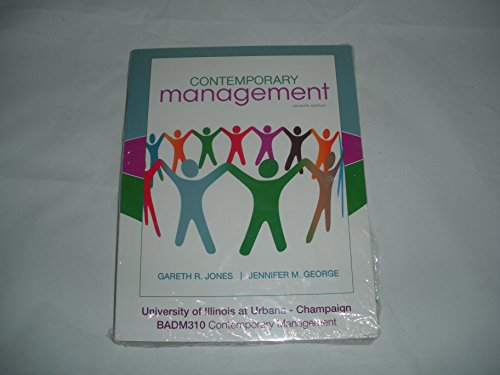 9780077584498: Contemporary Management (University of Illinois at Urbana-Champaign Edition)