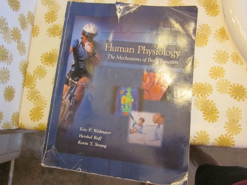 Vander's Human Physiology the Mechanisms of Body Function: Widmaier/Raff/Strang