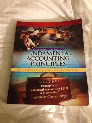 9780077586645: Fundamental Accounting Principles