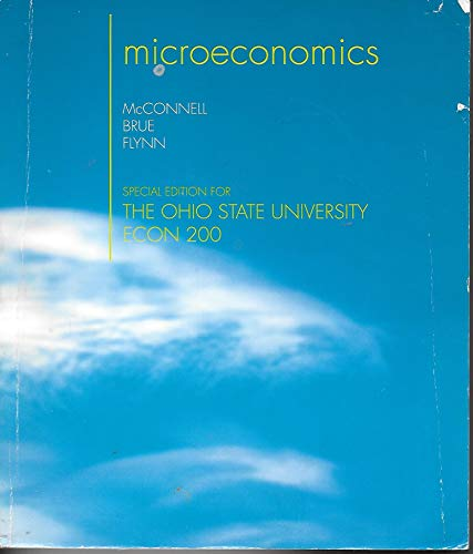 9780077586744: MICROECONOMICS-TEXT ONLY >CUST