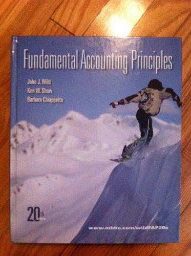 9780077587024: Fundamental Accounting Principles