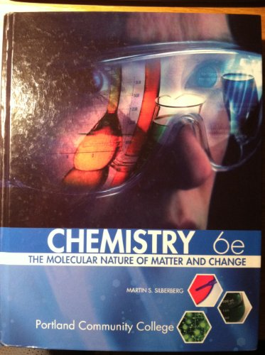 9780077587222: Chemistry-the Molecular Nature of Matter and Change-6th Edition-Portland Community College