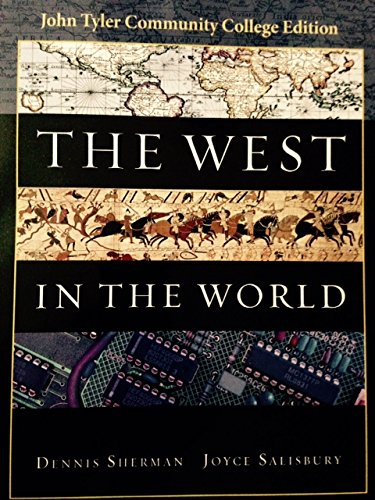 9780077587390: The West in the World JTCC Edition