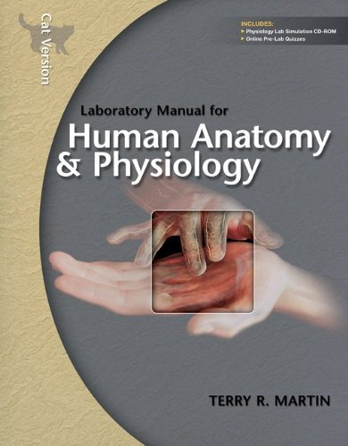9780077588175: Laboratory Manual for Human Anatomy & Physiology: Cat Version w/PhILS 3.0 CD