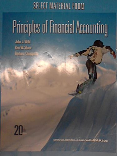 9780077588458: Principles of Financial Accounting
