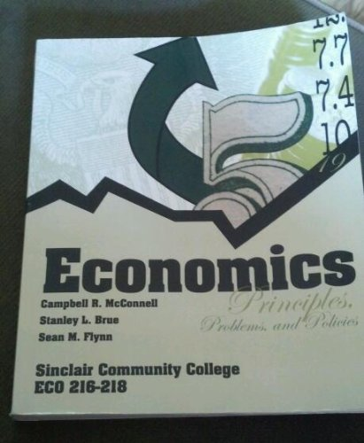 9780077588823: Economics: Principles, Problems, and Policies