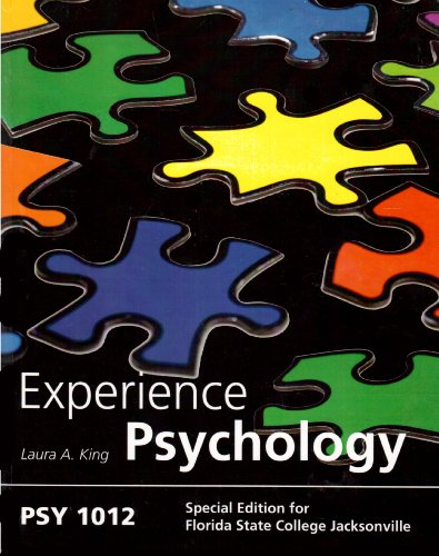 9780077589882: Experience Psychology