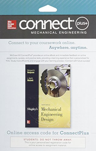 9780077591632: Connect 1-Semester Access Card for Shigley's Mechanical Engineering Design